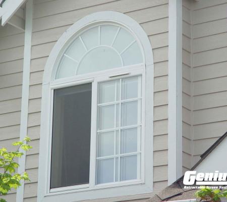 Retractable Cascade window screens work on sliding windows