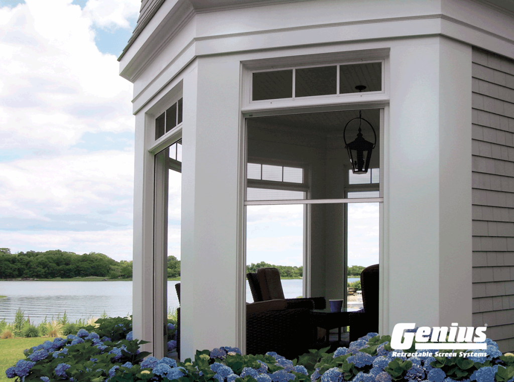 Genius Olympic Retractable Screens - Perfect for Patio Enclosures, Gazebos & Garage Doors