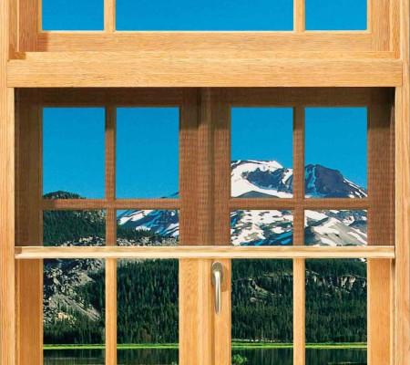 Incognito retractable window screens