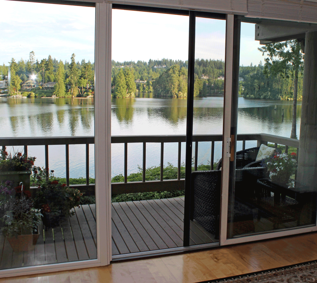 Retractable screens puget sound invisible screens for Disappearing sliding glass doors
