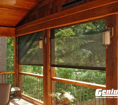 Olympic Retractable Screens Work on Your Elevated Deck