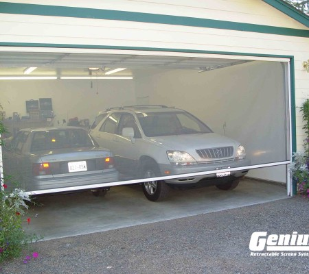 Olympic Retractable Screens Work on Your Garage Door