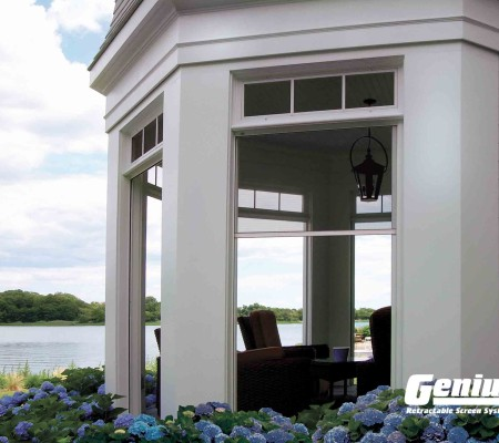 Olympic Retractable Screens Work on Gazebos